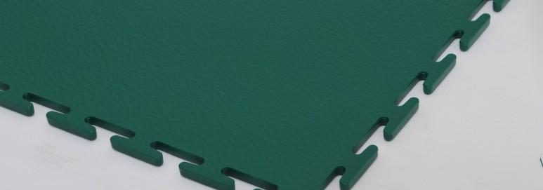 Interlocking flooring tile