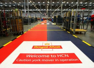 Industrieboden: Lagerboden bei Royal Mail