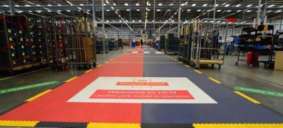 Royal Mail Premium Boden mit individueller Beschichtung