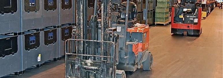 ecotile warehouse flooring