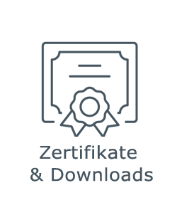 Zertifikate & Downloads