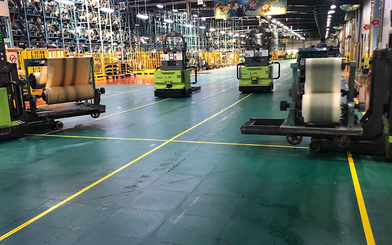 Industrieboden Hankook Tyre